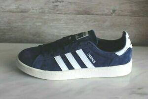 Adidas-Originals-Campus-Blue-Men-039-s-Sneakers-Retro-Shoes-Sz-9-5-Suede-Retro-43-5