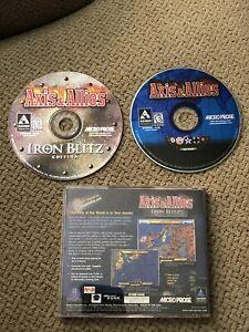 RARE-Axis-amp-Allies-Iron-Blitz-Edition-2-Disc-Set-PC-1999
