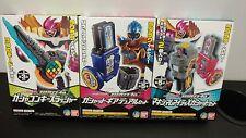 Bandai Kamen Rider Ex Aid RakuRaku Modeler 4th Henshin Game DX Key Slasher x3