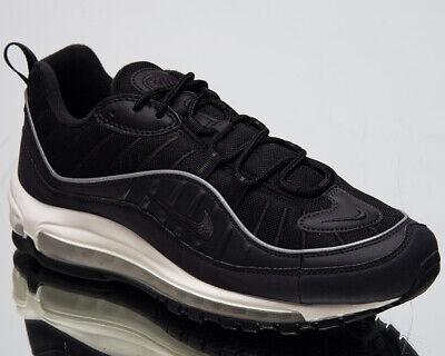 Nike Air Max 98 Homme Oil Gris Noir Décontracté Athlétique Mode de Vie Baskets | eBay