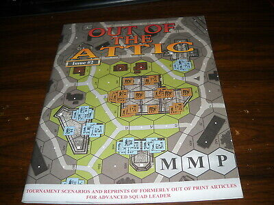 ASL Out of the Attic Issue #2 Scenario Pack Advanced Squad Leader MMP Brand New