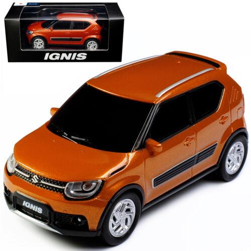 Generation ab 2017 1//43 Modellcarsonline Modell A Suzuki Ignis 5 Türer Orange 3