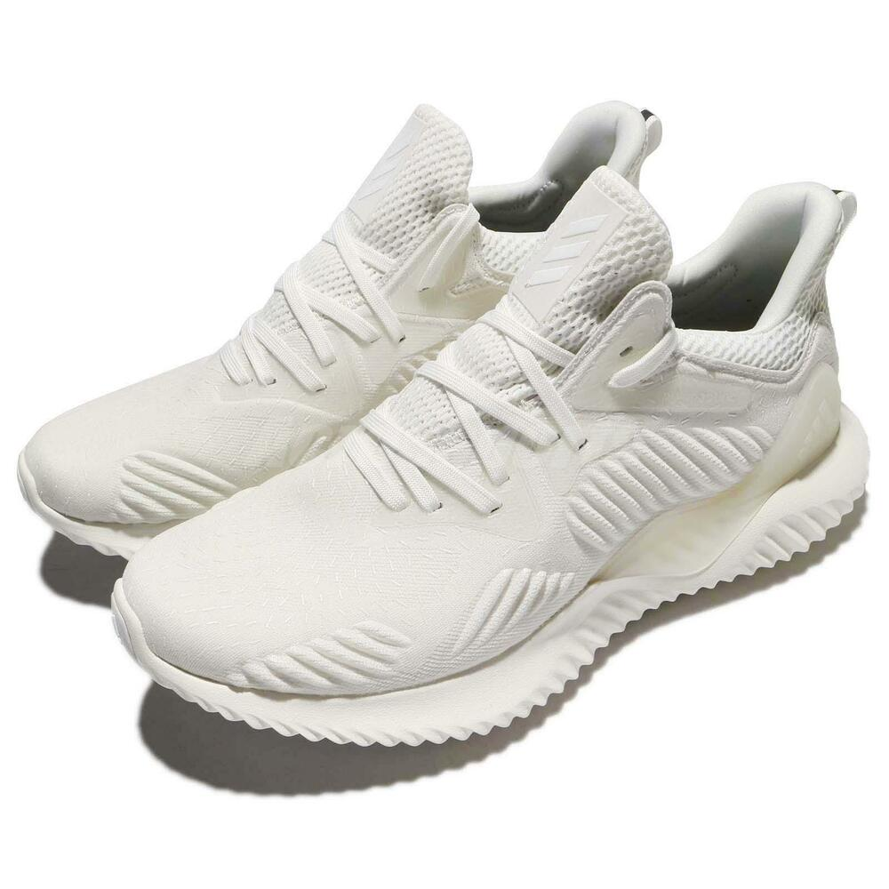 adidas Alphabounce Beyond M Non Dyed blanc homme fonctionnement chaussures Sneakers DB1125