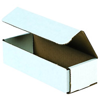 Pack Of 50 Shipping Moving Boxes Corrugated Mailers 14 X 6 X 4, Oyster White