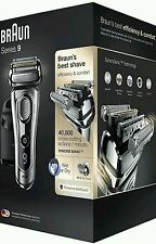 Braun Series 9 9290cc Men's Electric Foil Shaver, Wet&Dry,Clean & Charge Station