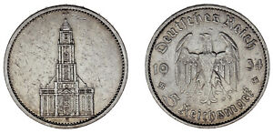 5-REICHSMARK-GERMANY-5-MARCOS-ALEMANIA-IGLESIA-POTSDAM-CHURCH-1934-A-VF-MBC