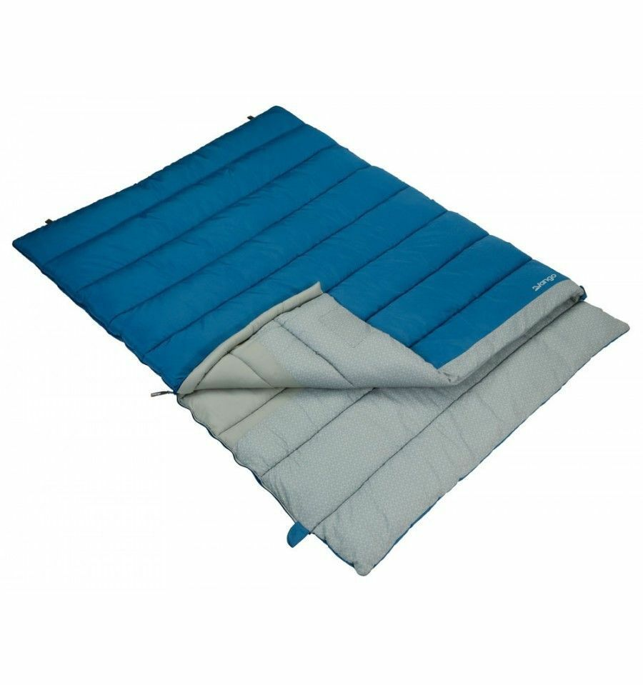Vango Harmony Double Sleeping Bag Sky bluee - RRP  - Tog Rating 8 -