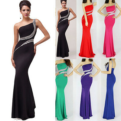 New Mermaid Backless Long Sleeveless Evening Dresses Princess Party Prom Gowns