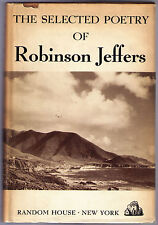 THE SELECTED POETRY OF ROBINSON JEFFERS (1938 cloth) 1ST ED, INSCRIBED, PHOTO