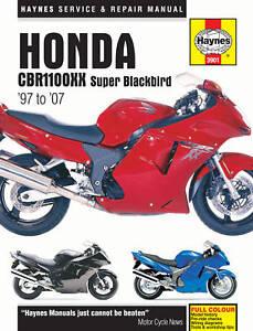 Haynes-Manual-for-Honda-CBR1100XX-Super-Blackbird-1997-2007-HM3901