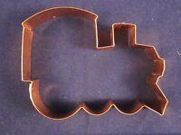 Williams Sonoma Copper Cookie Cutter Train Engine Vintage