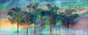 Ceramic-Tile-Mural-Backsplash-Bradshaw-Palm-Tree-Tropical-Art-OB-MB45a