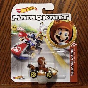 Tanooki-Mario-Standard-Kart-Mario-Kart-Character-Cars-Hot-Wheels-2019