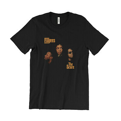 Fugees The Score T Shirt Lauryn Hill Pras Wyclef Jean