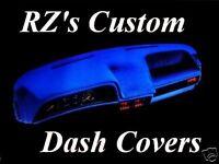 1990-1991 Ford Crown Victoria Dash Cover Mat Black Gray Tan Blue Maroon