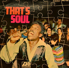 "VOLT STAX - THAT`S SOUL (VARIOUS ARTISTS) 12"" LP (U 172)"