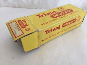 Suivi Des Vols Triang Tt T92 Castle Class Loco Tender Yellow Box Only Gc Rovex RafraîChissant Et BéNéFique Pour Les Yeux