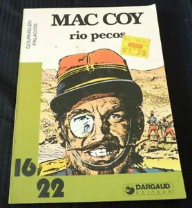 Soft-Cover-French-Book-Mac-Coy-Rio-Pecos-Dargaud-16-22-No-113