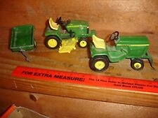 1/16 john deere 400 lawn mower and jd 345 toy tractor
