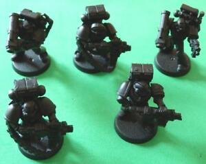 Games-Workshop-Space-Marine-Assault-Squad-Trooper-x-5