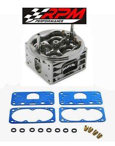 Quick-Fuel-750-Center-Main-Body-Holley-HP-Carburetor-Carb-Aluminum-BR-67101