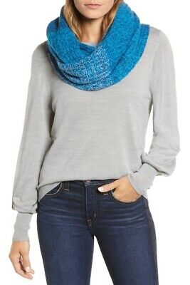 NWT Halogen Grey Ombre Cashmere Infinity Scarf