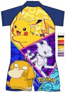 Boys Kids Pokemon Surf Suit Swimsuit Character Children Swimwear 18Month  5Yrs