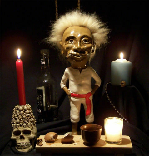 Rare Jobu Hand Painted Major League The Movie Replica Prototype 15 Inches