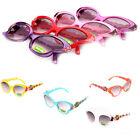 Children Toddlers Kids Sunglasses Girls Cartoon Butterfly Shades Eyeglasses