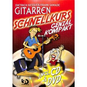 Gitarren-Schnellkurs genial kompakt (+DVD CD) ohne Noten 9783935478359 - Hamburg, Deutschland - Gitarren-Schnellkurs genial kompakt (+DVD CD) ohne Noten 9783935478359 - Hamburg, Deutschland
