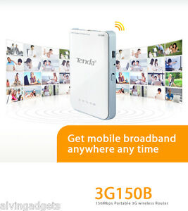Tenda-150Mbps-Battery-Powered-Portable-3G-Pocket-Wireless-WiFi-Hotspot-Router