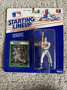 1989 Starting Lineup Milwaukee Brewers PAUL MOLITOR HALL OF FAMER
