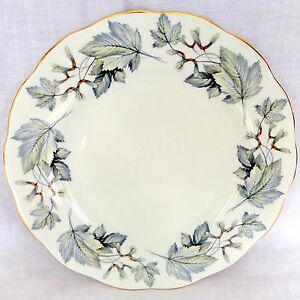 Royal-Albert-Silver-Maple-10-25-Dinner-Plate-Bone-China-England