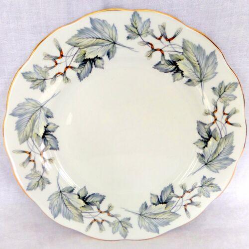 "Royal Albert Silver Maple 10.25"" Dinner Plate Bone China England"