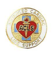Advanced Cardiac Life Support Pin Acls Medical Emblem Ems Emt 2080