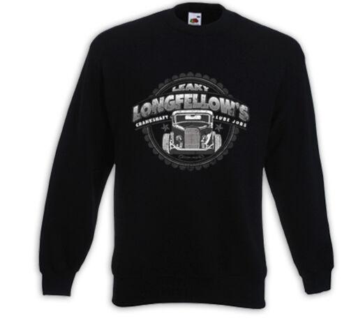 HOT Rod pullover long Fellows v8 garage Rockabilly Consiglio CANDELA