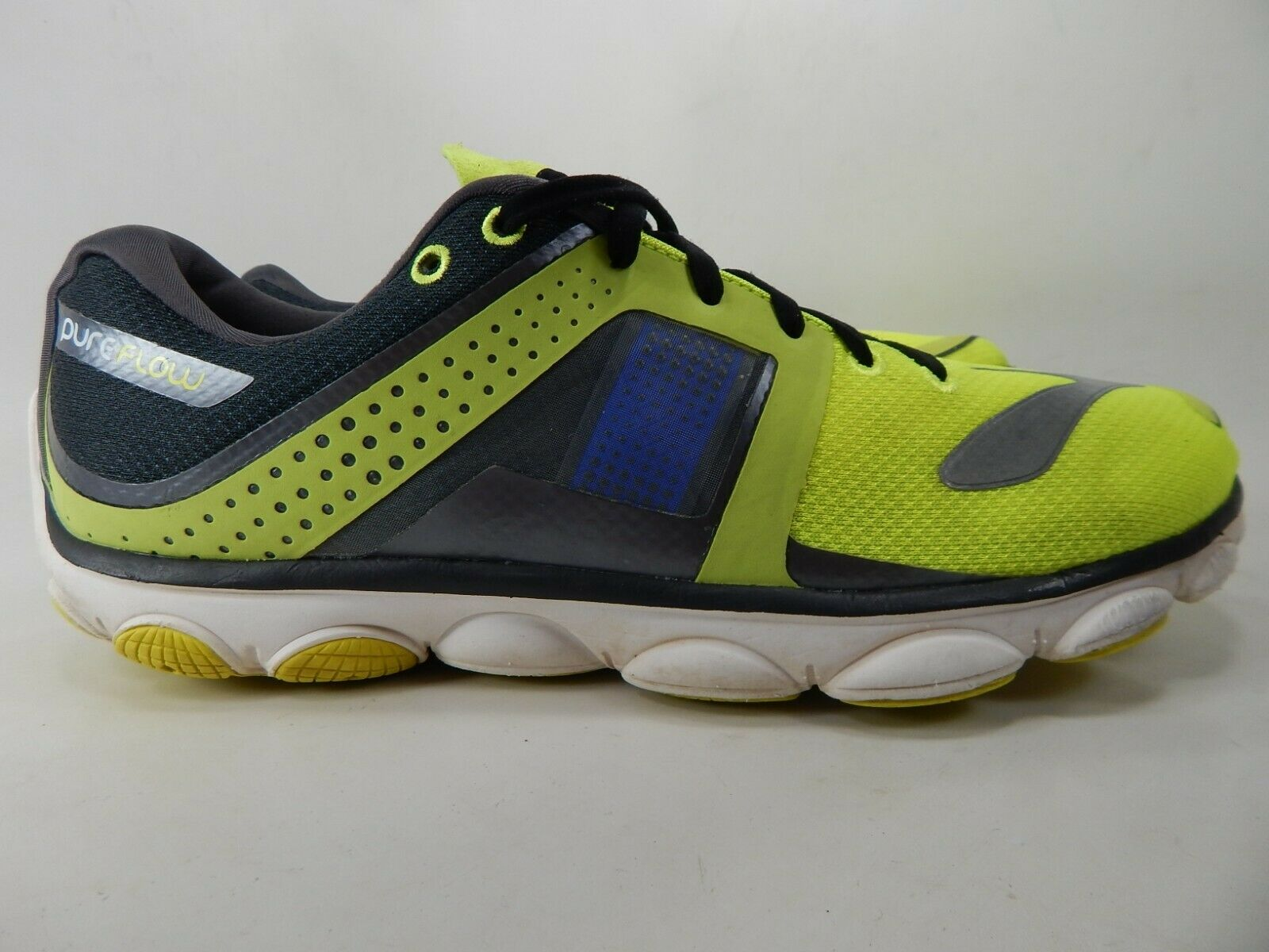 Brooks Pure Flow 4 Sz 10.5 M (D) EU 44.5 Men's Running shoes Citron 1101901D791