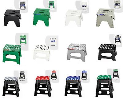 Multi Purpose Folding Step Stool Home Kitchen Easy Storage Foldable Up To 100kg Im In- Und Ausland FüR Exquisite Verarbeitung, Gekonntes Stricken Und Elegantes Design BerüHmt Zu Sein