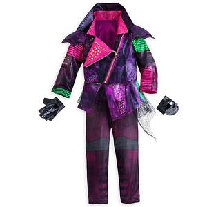 Details About Disney Store Descendants Mal Costume For Kids Faux Leather Jacket Maleficent New