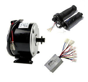 250W-24V-Electric-Motor-Speed-Controller-Box-Throttle-Grip-Set-Ebike-Scooter