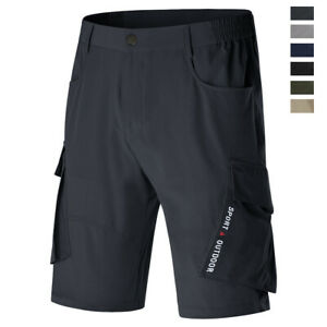 Men-039-s-Cargo-Shorts-Casual-Tactical-Military-Army-Combat-Causal-Work-Half-Pants
