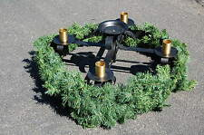 "+ Very Nice Advent Wreath + 29"" diameter + + (#310) + + chalice co"