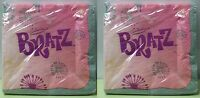 2-set Bratz Beverage Napkins Small Paper Birthday Girls Cocktail Child Pink