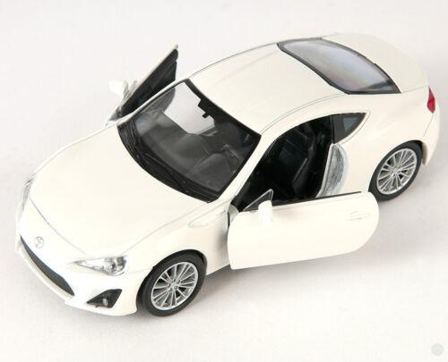 Blitz envío toyota 86 crema Welly modelo auto 1:34 nuevo /& OVP