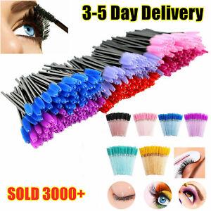 EZGO Disposable Makeup Eyelash Brush Mascara Wands Eyeliner Brushes Applicator