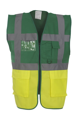 Portwest HI VIS Tuta Tute Boilersuit Sicurezza Workwear ELASTICO POSTERIORE C485