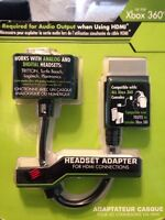 Xbox 360 Headset Audio Adapter For Hdmi Connections-mad Catz Free S/h T84