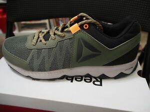 c547817dffa Details about New Reebok BD1513 Men DMX Lite KATAK Walking Hiking shoes  green Size 8 sneakers