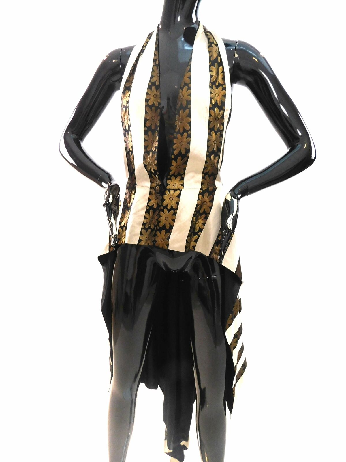 1920s Hollywood Glam couture waistcoat