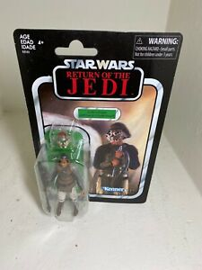 STAR WARS Collection Vintage Lando Calrissian Skiff Guard Disguise VC144
